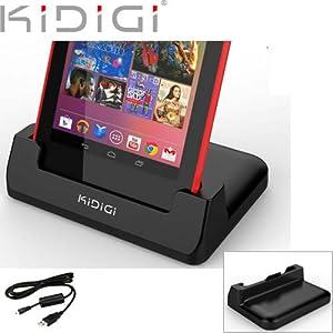 新型Nexus7(2013)でKidigi USBカバーメイトクレードル 充電器が使えるか?