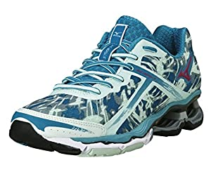 MIZUNO Wave Creation 15 Laufschuhe Damen, Blau, 41