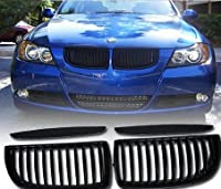 Thg Direct Fit Front Hood Central Grille Grill Black For Bmw E90 E91 3 Series 4-door Model Only 2005-2008 by Refitting Refitment Aftermarket Central Bumper grill