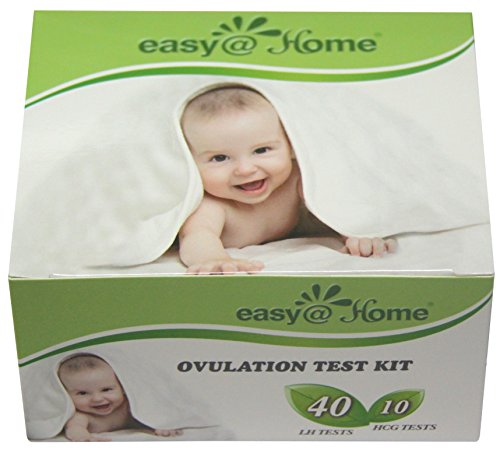 Easy@Home branded Combo 40 Ovulation (LH) and 10 Pregnancy (HCG) Tests Strips Kit - 1