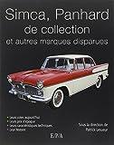 Voitures Simca, Panhard et autres marques disparues