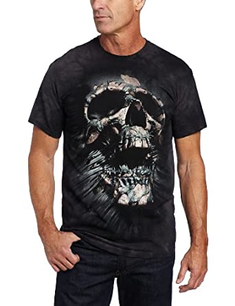 the mountain men 39 s breakthrough skull t shirt. Black Bedroom Furniture Sets. Home Design Ideas