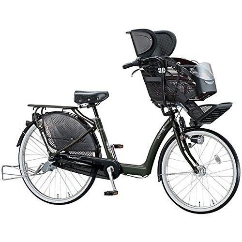 ブリヂストン(BRIDGESTONE) アンジェリーノ Angelino AG26-5 T.マットカーキ 子供乗せ自転車