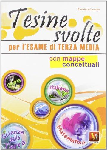 Il grande libro delle tesine per la scuola media PDF
