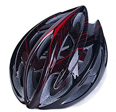Hawkfish H006 220g 22 Vents Ultra Light Weight Mens/Ladies Adult Bike BICYCLE Helmet -EPS Safety Helmet- Available With insect nets  And warning lights in 3 Colours 56-63CM from Generic008