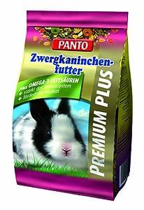 Panto Zwergkaninchen futter Premium, 3er Pack (3 x 600 g)