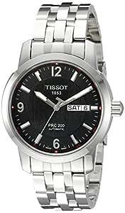 Tissot Men's T0144301105700 PRC 200 Black Dial Watch