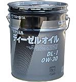 ☆トヨタ純正 ディーゼルエンジンオイル DL-1 0W-30 20L▽08883-02903