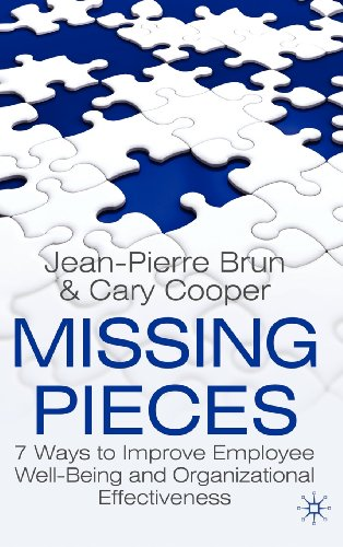 Missing Pieces: 7 Ways to Improve Employee Well-Being and Organizational Effectiveness