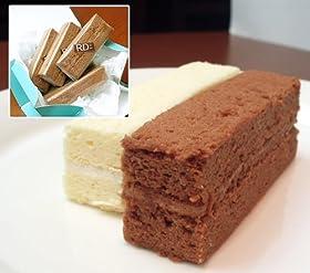 濃厚&半熟【スティックスフレ】ショコラ風味チーズケーキ 5本入り  一瞬でとろける♪スフレのスティックタイプ!