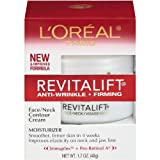 L'Oreal Paris RevitaLift Anti-Wrinkle + Firming Face & Neck Contour Cream, 1.7 oz.