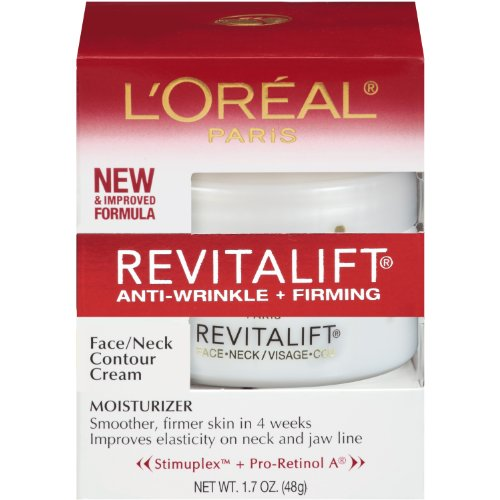 L'Oreal Paris Revitalift, AntiWrinkle, Firming Face and Neck Contour Cream, 1.7 Ounce Picture
