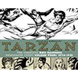 Tarzan: The Complete Russ Manning Newspaper Strips Volume 4 (1974-1979) (The Library of American Comics)