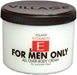 Village Cosmetics Vitamin E Body Cream for Men Only 500 ml