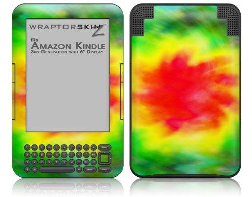 Skin for Amazon Kindle 3 (with 6 inch display) - Tie Dye by WraptorSkinz