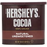 HERSHEY'S Cocoa (Natural Unsweetened, 16-Ounce Cans, Pack of 3)