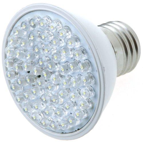 Kingzer 60 Led White E27 Led Light Bulb Lamp 220V 3W