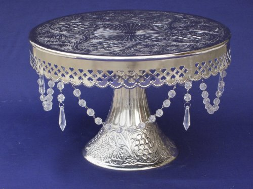 Silver Cake Stands For Wedding Cakes: Wedding Cake Stand Round ...