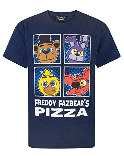 FIVE NIGHTS AT FREDDY'S -  T-shirt - Maniche corte  - ragazzo Blue 5-6 Anni