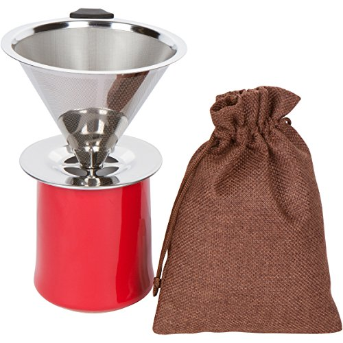 Coffee-Dripper-Pour-Over-Pro-Coffee-Maker-Stainless-Steel-Reusable-Paperless-Coffee-Filter-with-Burlap-Coffee-Bean-Bag