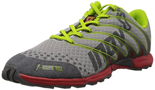 Inov-8 F-Lite 192 Cross-Training Shoe,Grey/Lime/Red,13 M US