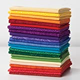 Quilter's Candy Color Wheel Fat Quarter Sampler w/ Bonus Free Pattern