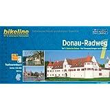 Bikeline Donau-Radweg 1: Deutsche Donau: Von Donaueschingen nach Passau. Radtourenbuch, 580 km, 1 : 50 000, wetterfest/reißfest, GPS-Tracks Download