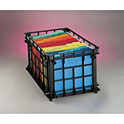 3 Pack ESSELTE CORPORATION OXFORD FILING CRATES