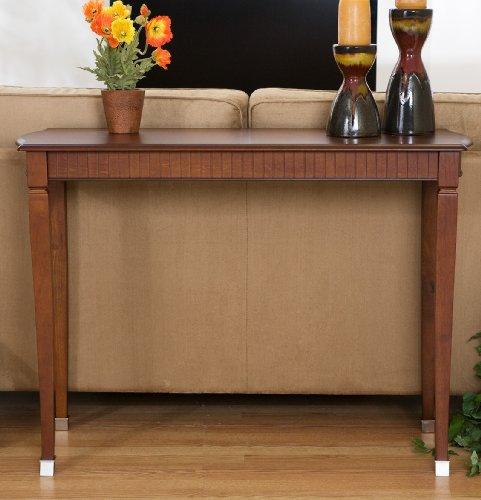 Cheap Kensington Brown Mahogany Finish Console Sofa Table (AZ00-30129×20490)
