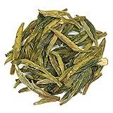 50g Dragon Well (Long Jing) Premium Loose Leaf Green Tea - Chiswick Tea Co