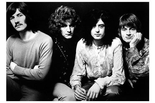 Led Zeppelin Print 8.5X11 053