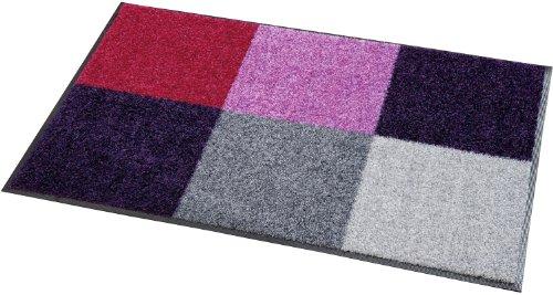 wash+dry Fußmatte lila Größe 75×120 cm