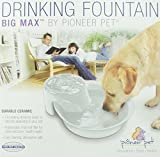Pioneer Pet Big Max Ceramic Drinking Fountain for Pets, White