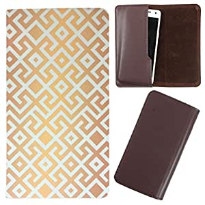 DooDa - For LG Optimus L4II Dual (E445) / L4II PU Leather Designer Fashionable Fancy Case Cover Pouch With Smooth Inner Velvet