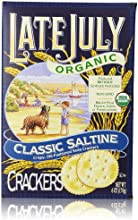 Late July Organic Crackers, Round Saltine, 6 Oz