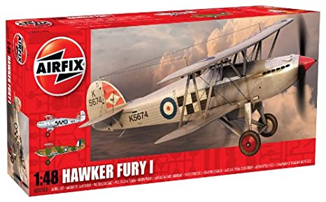 Airfix - AI04103 - Maquette - Hawker Fury - Réintroduction
