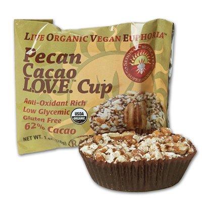 Sedona Chocolate Superfoods Bca01673 Superfoods Og1 Love Cup Popcorn, 12 X 1 Oz BCA01673