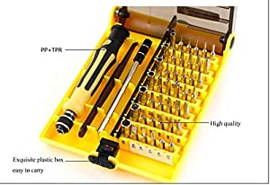 buy generic 45 in1 multi purpose precision screwdriver set notebook phone chaiji tools family. Black Bedroom Furniture Sets. Home Design Ideas