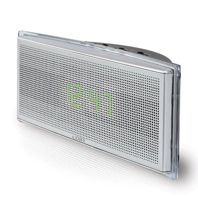 Coby CR-A129 Digital AM/FM Alarm Clock Radio with Front Panel Touch-Sensitive Snooze