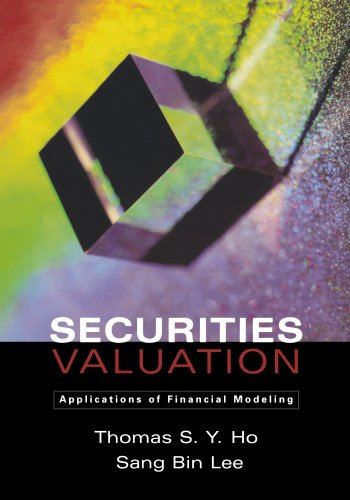 Securities Valuation: Applications of Financial Modeling, Buch