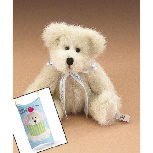 Boyds Peek-A-Bear Miniature Happy Birthday Teddy