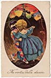 Artist Postcard of Children Dancing at New Years Masquerade Ball Chinese Lantern