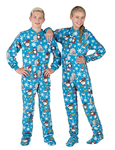 Footed Pajamas - Winter Wonderland