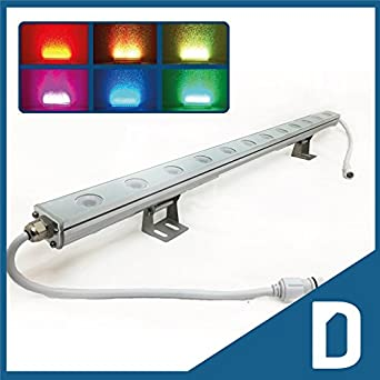 RGB Linear Bar Wall Washer LED Light Color Changing Multicolor Lighting E
