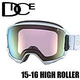 DICE ダイス 16HR-20 HIGH ROLLER M/BPINPBRd PAW 安心の日本正規品 スノボ スノーボード ゴーグル
