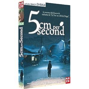 """Afficher """"5 cm per second"""""""
