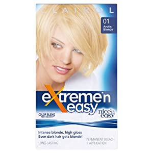 Clairol Nice'n Easy Extreme-n-Easy Hair Colour - Arctic Blonde 01