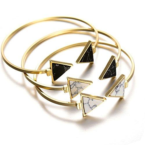 bobijoo-jewelry-bracelet-jonc-marbre-triangle-noir-blanc-dore-a-lor-fin-manchette-unique-blanc
