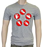 Stone paper scissors lizard spock DR T-Shirt Slimfit szau sz.M