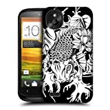 Head Case Doitsu Black And White Koi Fish Tattoo Hard Back Case For Htc Desire X